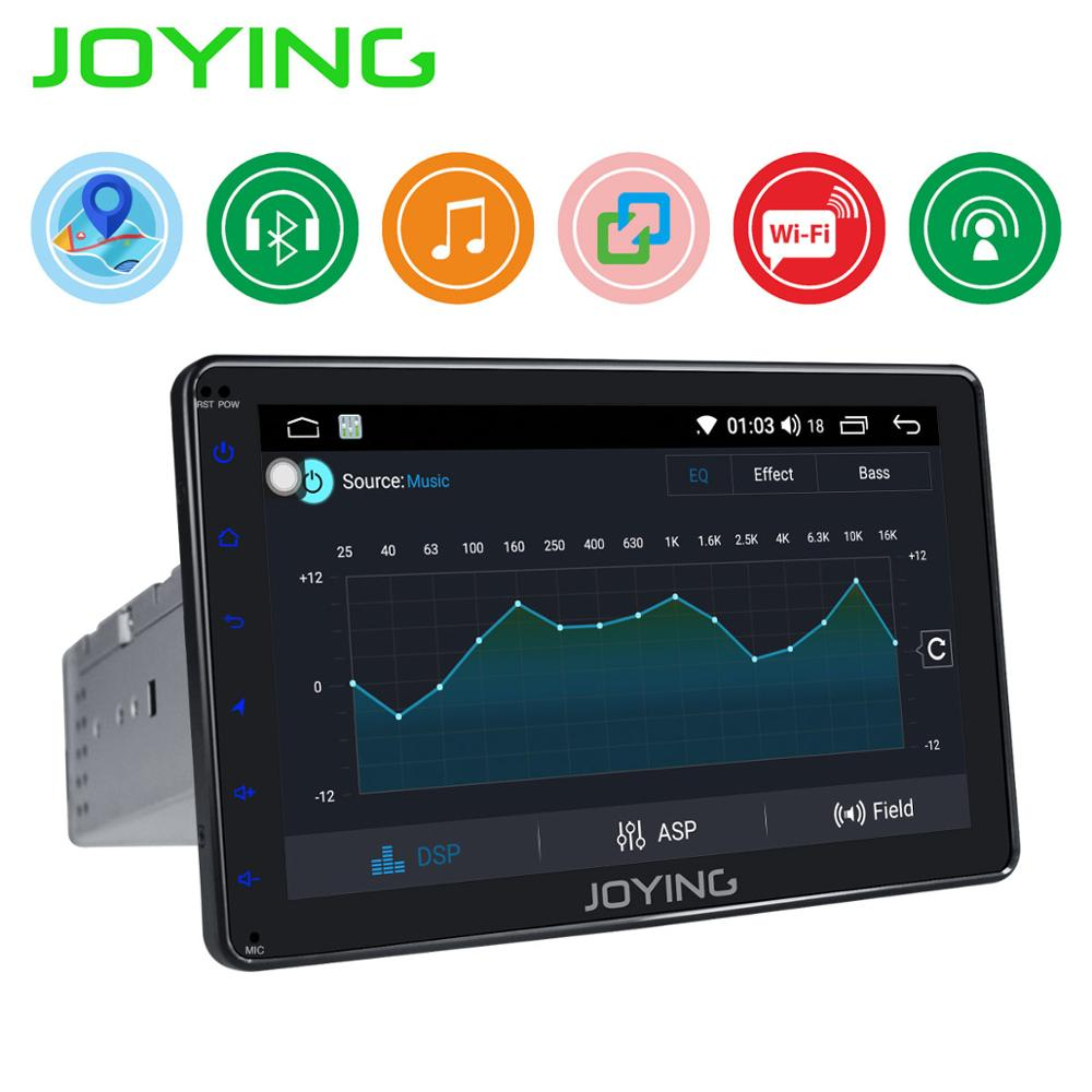 JOYING  8 1 Din Android Car Radio stereo Head Unit Multimedia NO DVD Player DVR Cassette Tape recorder GPS Steering Wheel OBD2