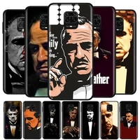 scarface godfather for xiaomi redmi note10 10s 9t 9s 9 8t 8 7 6 5a 5 4 4x prime pro max soft silicone phone case