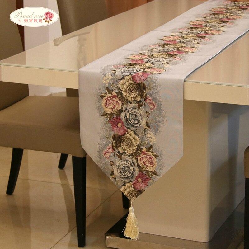 مفرش طاولة مع العلم الأمريكي الوردي ، مفرش طاولة ، مفرش طاولة شاي ، ديكور زفاف عصري