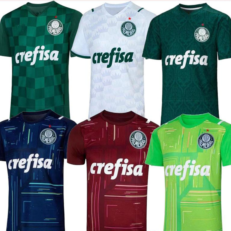 20 21 Palmeiras camisa de zeit futebol BORJA EIN. GUERRA G.GOMEZ G.VERON L.ADRIANO DUDU Palmeiras camisa futebol TORWART shir