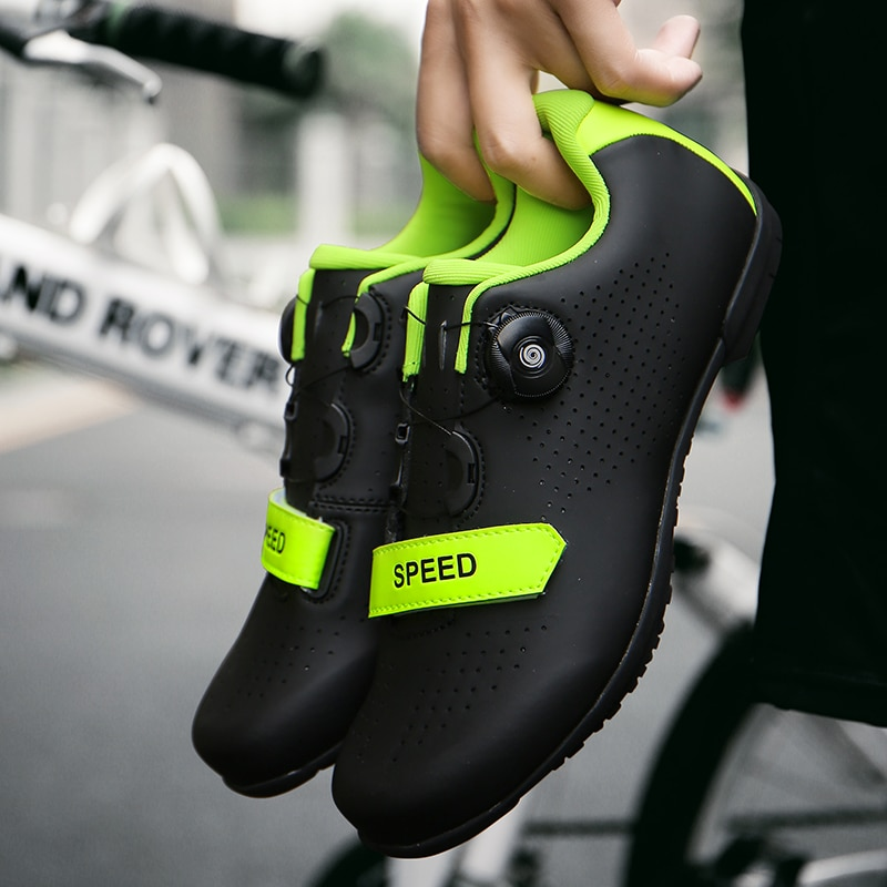 Road Bicycle Cycling Shoes sapatilha ciclismo Anti-slip Breathable Men Sneakers Women Racing Athletic Bike Non-Locking Shoes