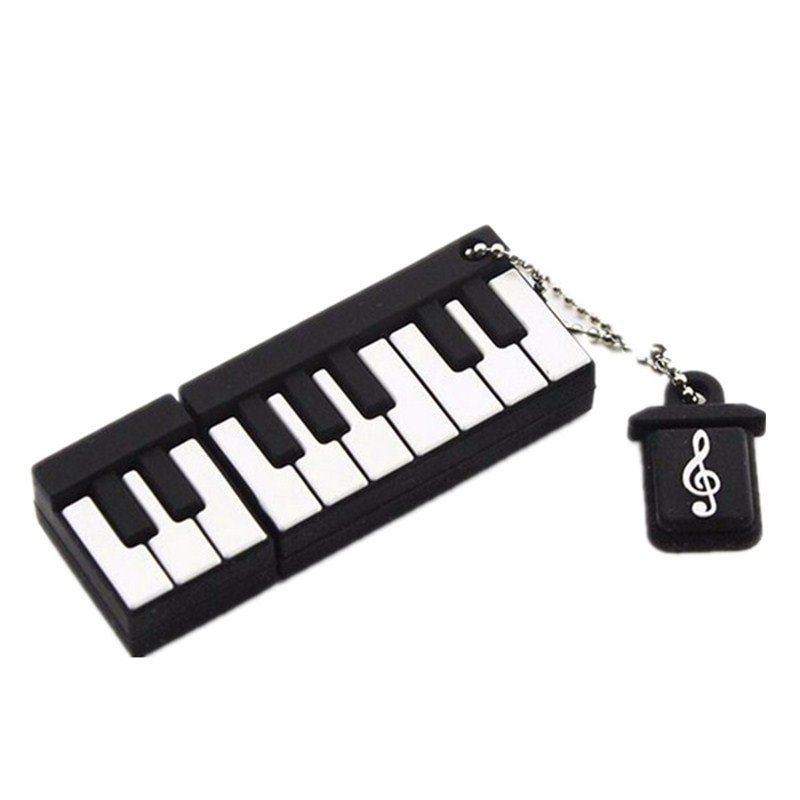Musical Instruments Note Usb Flash Drive 128GB Flash Disk Memory Card 2.0 Usb Disk Real Capacity Pen Drive 256GB 512GB Pendrive