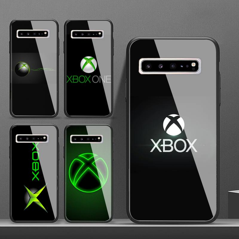 Xbox Phone Case Glass For Samsung S10 S20 S9 Plus S6 7 Edge Note9 10 Luxury Brand