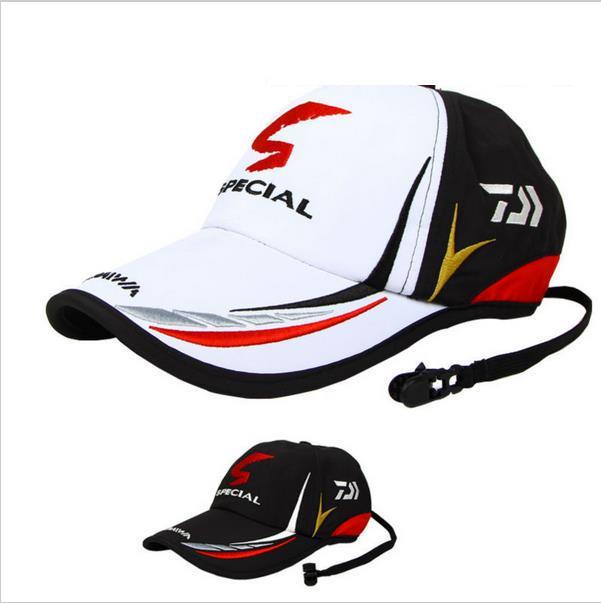 2020 Мужская Регулируемая шляпа от солнца для рыбалки, спортивная бейсбольная Мужская Панама Фишера, черная специальная шляпа с надписью