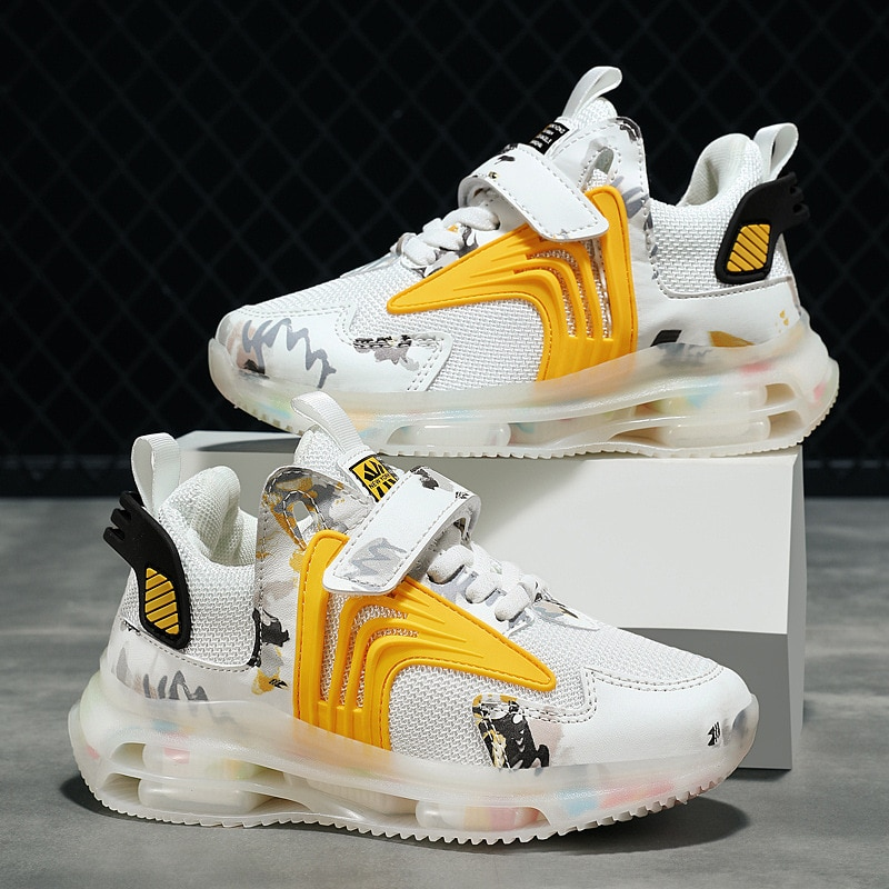 Children's Sports Shoes 2021 New Boys' Shoes, Big Children's Breathable Net Shoes, Children's Old Shoes, Children's Casual Shoes