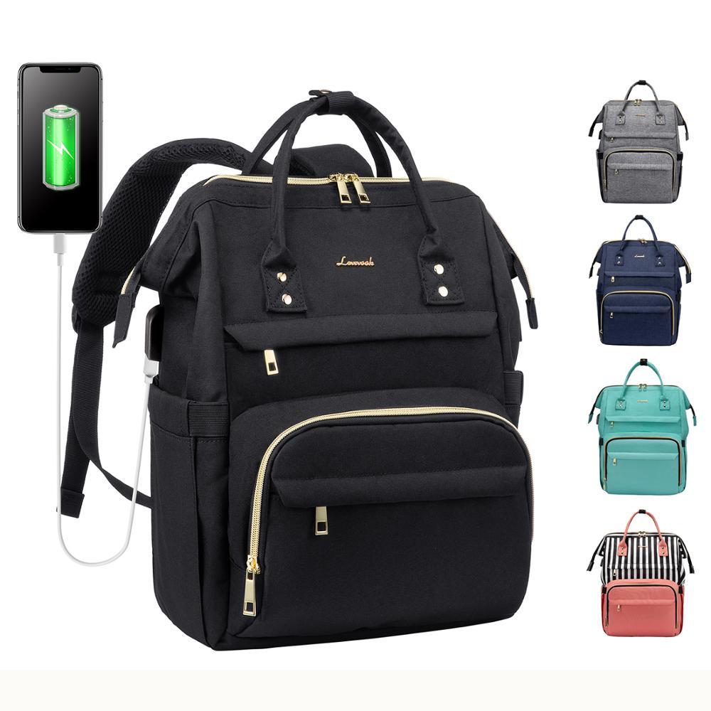 Women bag Backpack USB External Charge 15.6 Inch Laptop Backpack Multifunction Men bag Waterproof School Backpack for Teenager