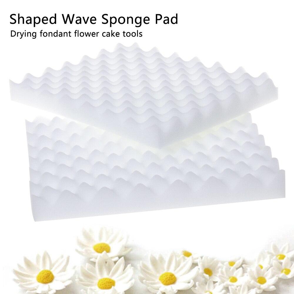 Fondant bolo esponja espuma de secagem de açúcar flor esteira esponja almofada pasta goma molde bakeware ferramentas ferramenta cozinha gadget