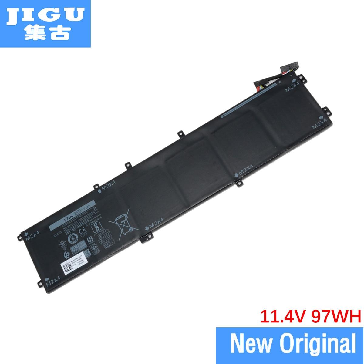 JIGU Original ordenador portátil batería 05041C 6GTPY H5H20 5XJ28 para Dell precisión 5520 5530 M5510 M5520 XPS 15 9570-11,4 V 97WH