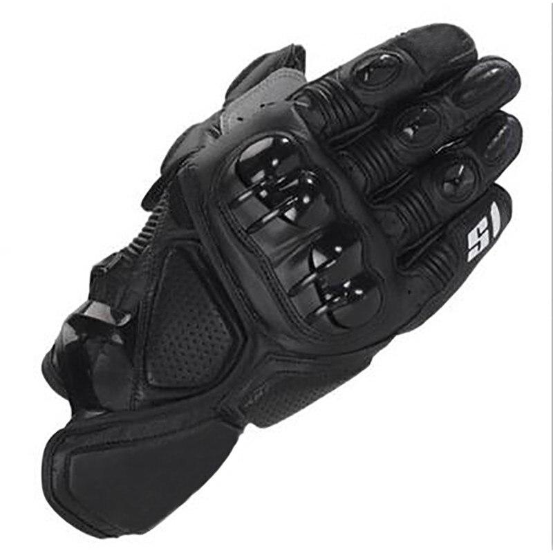Alpines noir Motocross Star S1 course gant Moto cuir gants pour Moto de rue Moto