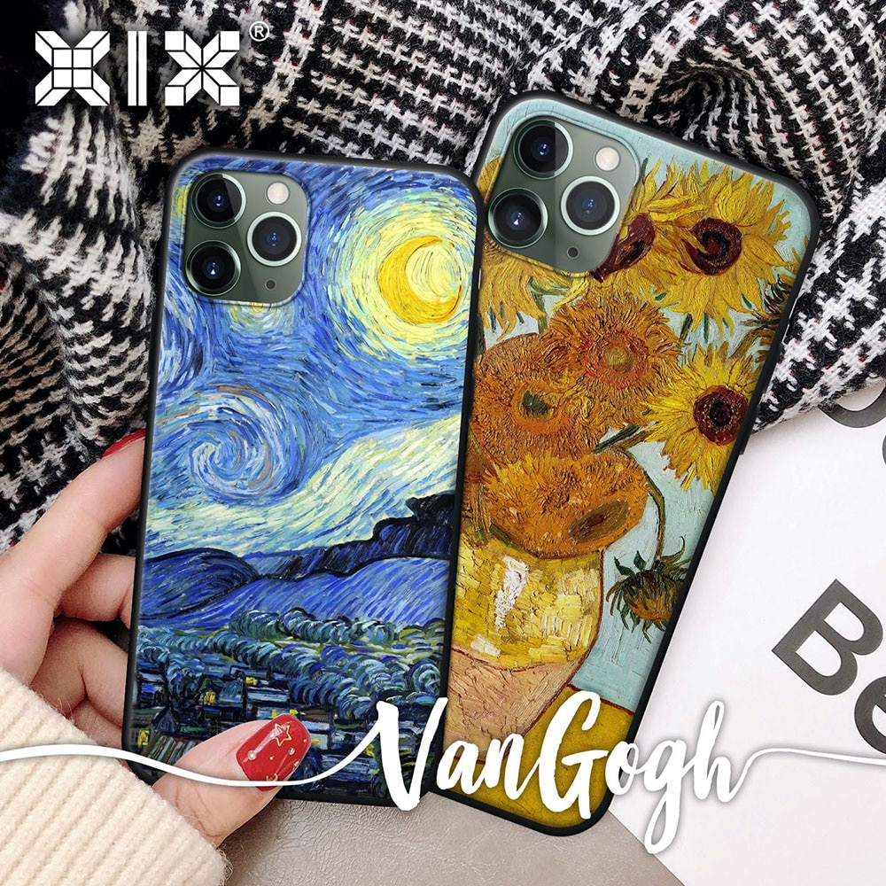 Soft TPU Cover for Samsung Galaxy S21 Case Van Gogh for Samsung S20 FE Case for Samsung S7 S8 S9 S10
