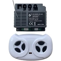 2 4g bluetooth remote control and receiver replacement for jr1930rx 4p 24v%ef%bc%8capplicable with childrens electric ride on vehicles