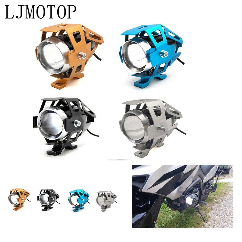 De la motocicleta 12V faros LED lámpara auxiliar U5 proyector moto para Ducati HYPERMOTARD 821 939 SP HYPERMOTARD 1100, 796, 998