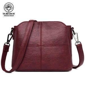 Fashion Women Bag High Quality Leather Crossbody Bags 2021 Luxury Female Designer Shoulder Bag Leisure For Lady Shoulder Bag