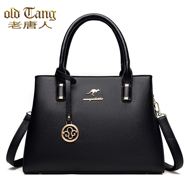 OLD TANG Large Capacity Luxury Women's Handbag High Quality PU Leather Shoulder Crossbody Bags For W