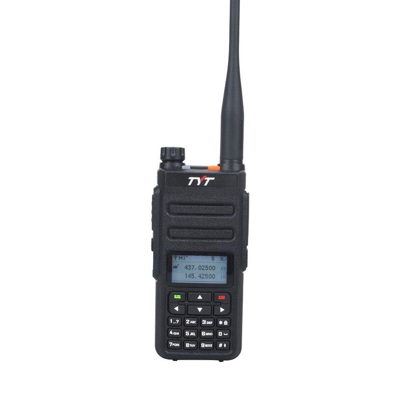 TYT MD-760 dmr اسلكية تخاطب UHF VHF ثنائي الموجات 136-174 400-470MHz 5W 1024CH التوقيت المزدوج فتحة الرقمية DMR المحمولة اسلكية تخاطب
