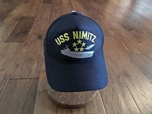 Baskılı USS NIMITZ U.S-NAVY gemi şapka abd askeri resmi beyzbol şapkası
