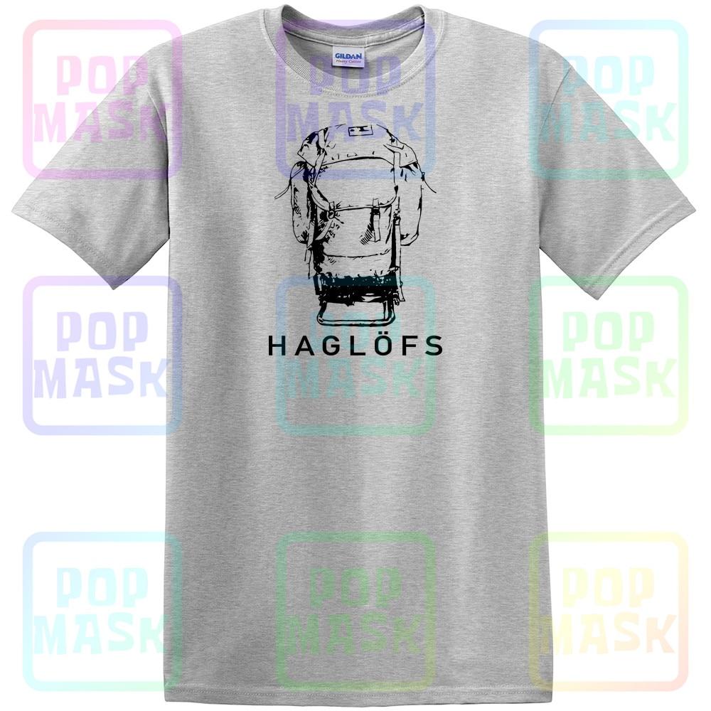Haglof campamento camiseta gris Melange/pizarra tamaño Unisex S-3XL