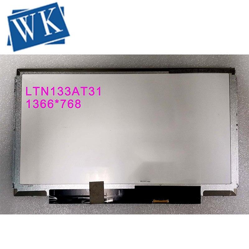 شحن مجاني! LTN133AT31 HB133WX1-201 N133BGE-E31 B133XTN02.1 محمول LED شاشة عرض 1366*768 EDP 30 دبابيس