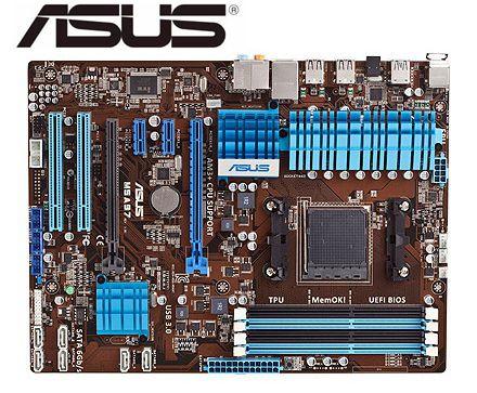 ASUS-placa base M5A97 original AM3 + DDR3, 32GB, USB2.0, USB3.0, SATA3 970,...