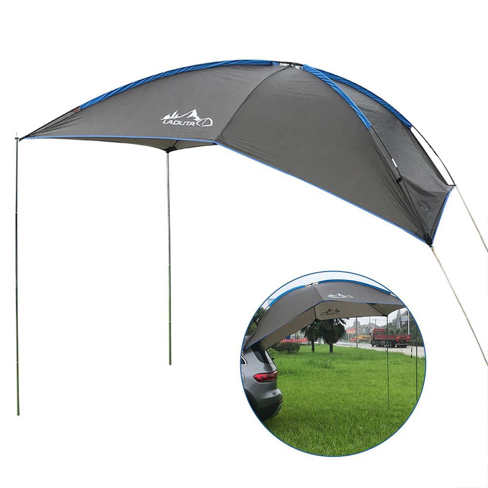 Oxford Tuch Auf Dem Dach Markise Auto Wasserdicht Reißfeste Reisen Camping Zelt Auto Seite Anti-Uv Zelt Für SUV MPV Anhänger 30