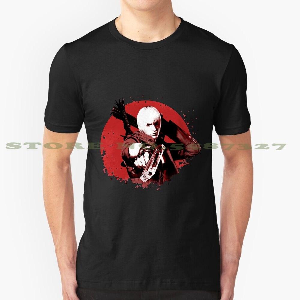 Dante Verano Divertido T camisa para los hombres las mujeres diablo nunca llorar Dmc Dante Estación de juego juegos de genial armas Rosa Vergil diablo oscuro