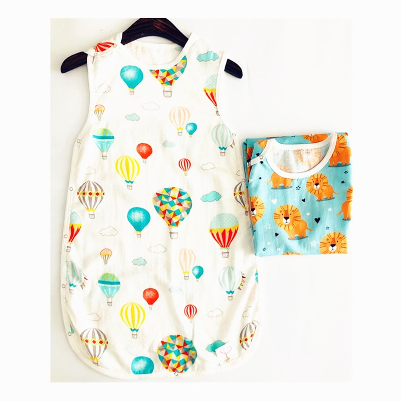 1 bebé muselina bolsa De Dormir De la muselina del bebé bolsa...