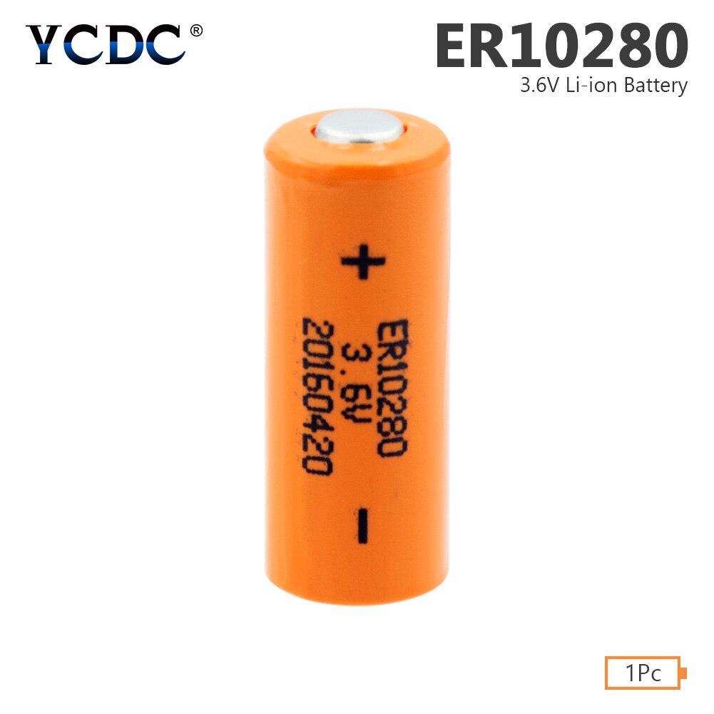 Batería de litio ER10280, 3,6 V, 450mAh, FX2NC-32BL ER10/28 2/3AAA, batería de celda para medidores de utilidad, sistema de alarma PLC Industrial