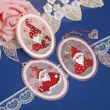 Tt papai noel casamento coelho amigos artesanato stich ponto cruz bookmark bordado bordado artesanato contado kit de costura cruzada