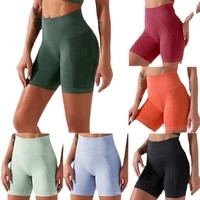 2021 european and american popular hot style seamless sports fitness shorts women fashion and comfortable