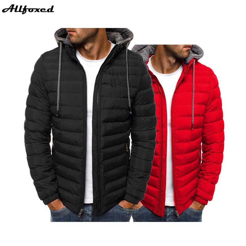 Брендовая мужская парка, зимняя куртка, Мужское пальто с капюшоном, повседневные мужские куртки на молнии, парки, теплая одежда, уличная оде...