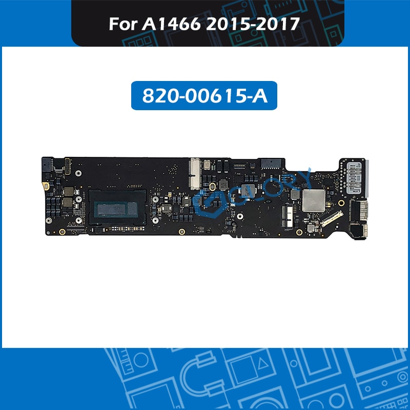 Review 820-00165-A For Macbook Air 13″ A1466 Motherboard Logic board Replacement 2015-2017