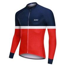 Nouveau RCC Pro Team hiver thermique polaire cyclisme vêtements hommes à manches longues Jersey extérieur équitation vélo vtt vêtements bavoir pantalons ensembles