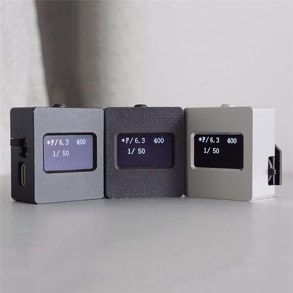 Juego de fotografía fotómetro de V-201X, medidor de luz de reflexión superior, fijación de zapata fría caliente para accesorios de cámara SLR Universal