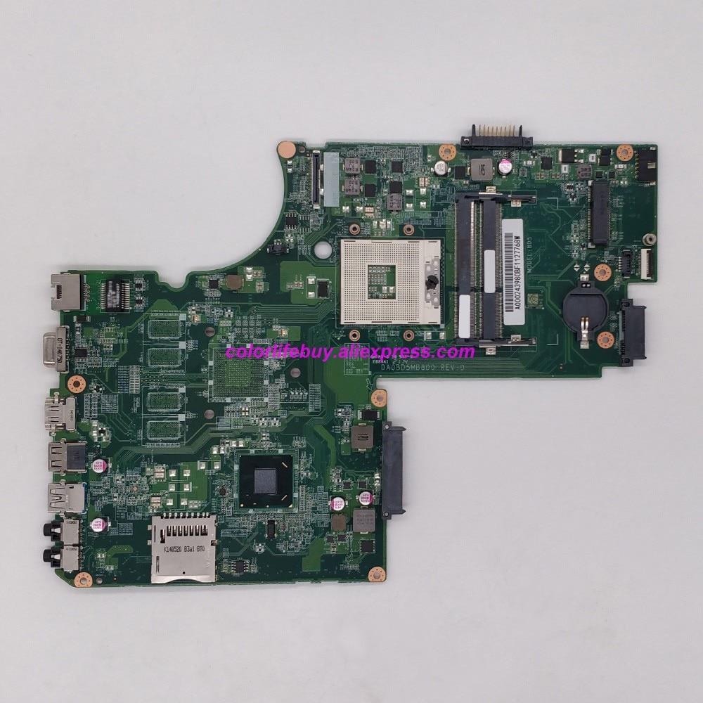 Genuino A000243980 DA0BD5MB8D0 HM76 DDR3 ordenador portátil placa base para Toshiba Satellite S75 L75 Notebook PC