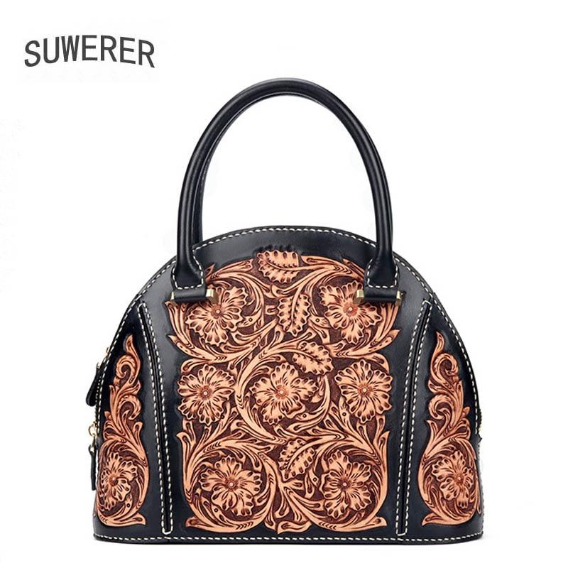 حقيبة جلد أصلي للنساء ، ماركة مشهورة ، حقيبة يد فاخرة ، مجموعة جديدة