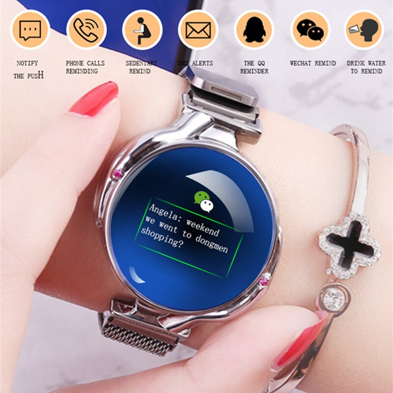 Z38 Smart Watch Women's Watches Sports Watch Smartwatch Heart Rate Sleep Monitor Women's Wristwatch Smart Bracelet Smart Clock