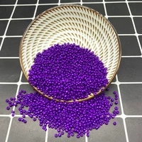 new 2 3 4mm size glass with seed spacer beads jewelry making fitting purple