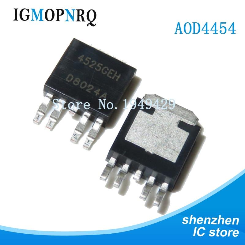 10 pces ap4525geh para-252-5 ap4525 to252 smd original novo