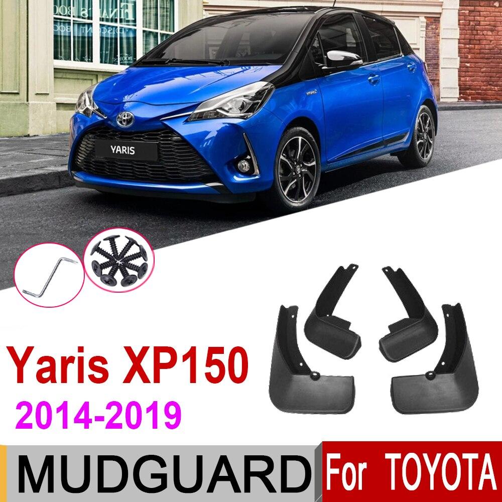 Guardabarros para Toyota Vios Yaris XP150 Hatchback 2019 ~ 2014, guardabarros, accesorios 2018 2017 2016 2015