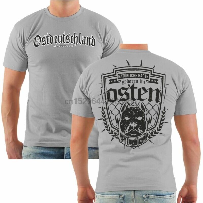Camiseta ostdeutschland natlirliche harte osten ddr ossis leipzig dresden halle