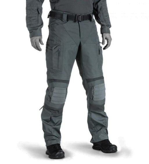 Pantalones tácticos de camuflaje militar para hombre, ropa de trabajo de camal...