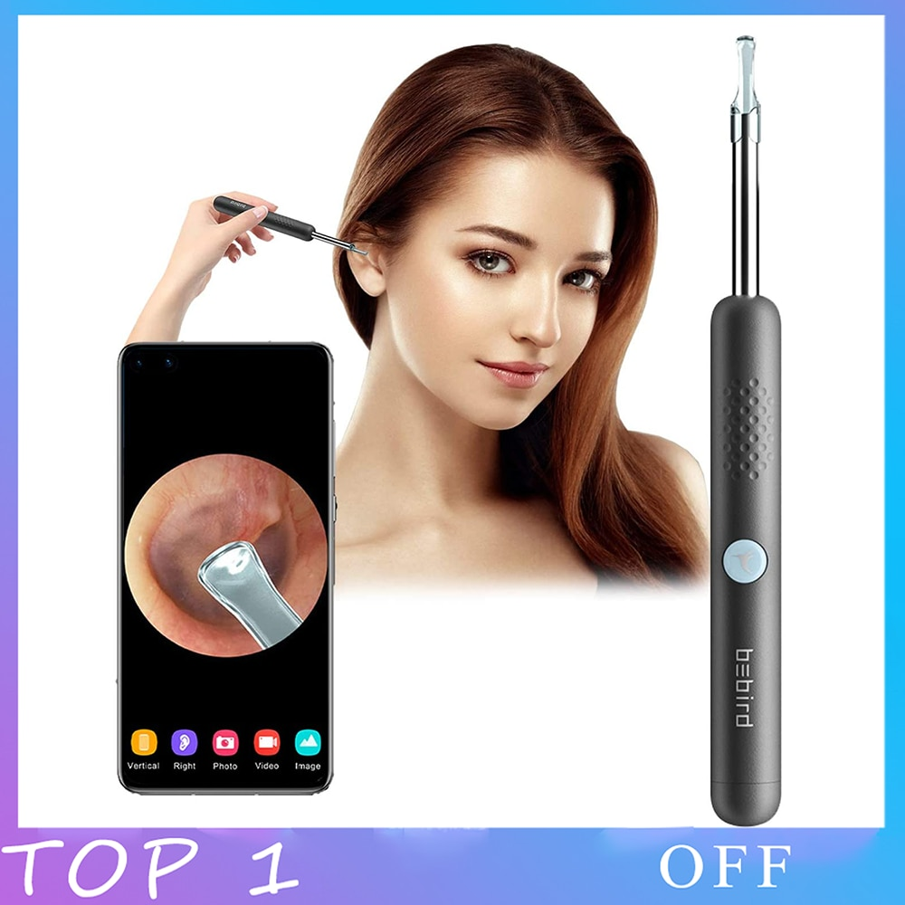Bebird ear cleaner Video Otoscope Camera Visual Ear Sticks Endoscope Wifi Iphone/Android Health Care