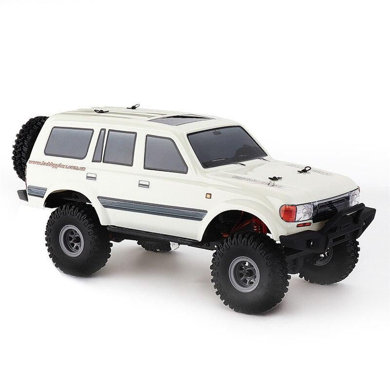 De 1/18 a 2,4G Mini carretera Indoor RC coche impermeable CES Motor 3 línea Servo modelos de vehículo Rock Crawler juguetes de coche RC para niños