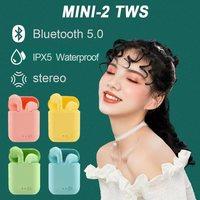 Беспроводные наушники TWS Mini-2, Bluetooth 5,0, игровая гарнитура, спортивные наушники, гарнитура для смартфонов Android, iOS, Xiaomi