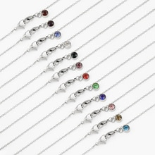 Stainless Steel Sunglasses Chain For Women Random Color Cubic Zirconia Chain Necklace Glasses Cord L