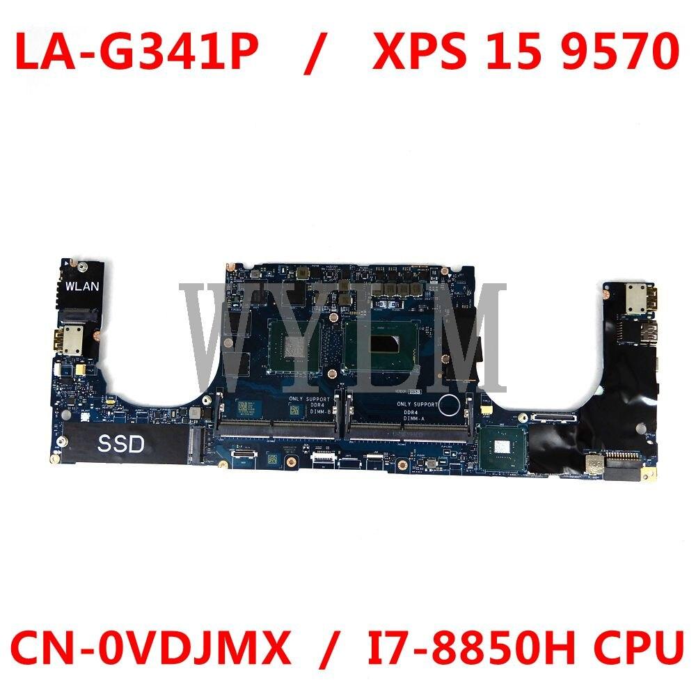 para dell precision 5530 computador portatil placa mae cn 0vdjmx 0vdjmx vdjmx ddp00