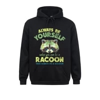 always be a racoon sweatshirts for boys long sleeve design comic sweater men hoodies funny autumn clothes print