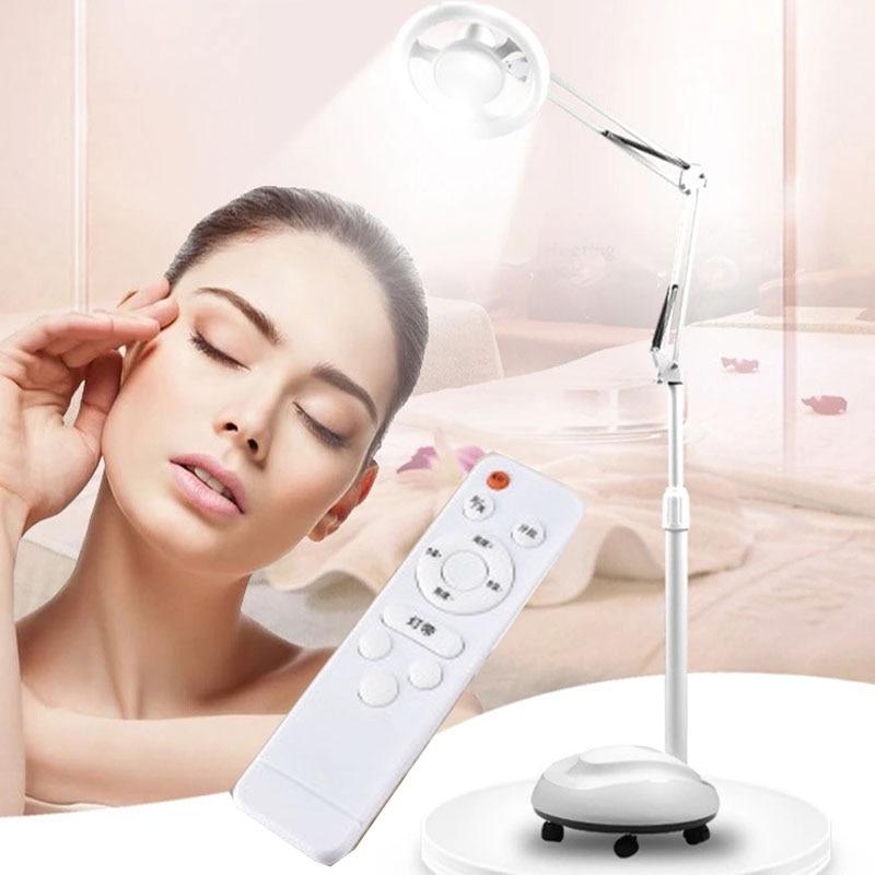 Lámpara LED de pie para belleza, temperatura de color, tatuaje sin sombras, belleza para cejas, pestañas, lámpara de tatuaje independiente