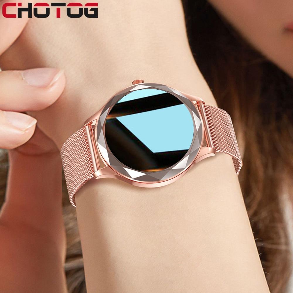 Smart Watch Women Lovely Bracelet Sleep Heart Rate Blood Pressure Monitor Smartwatch Ladies Gift Wat