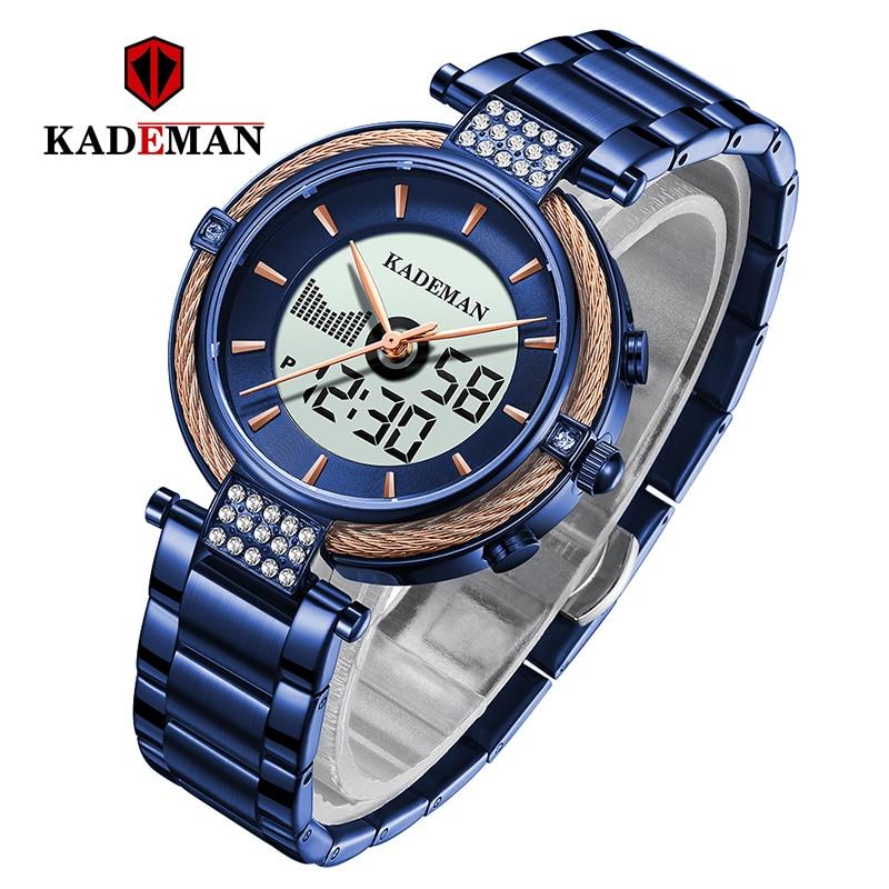 9080 Women Watches New Creative LCD Luxury Ladies Bracelet Digital Watch TOP Brand Elegant Fashion Female Business Wristwatch enlarge